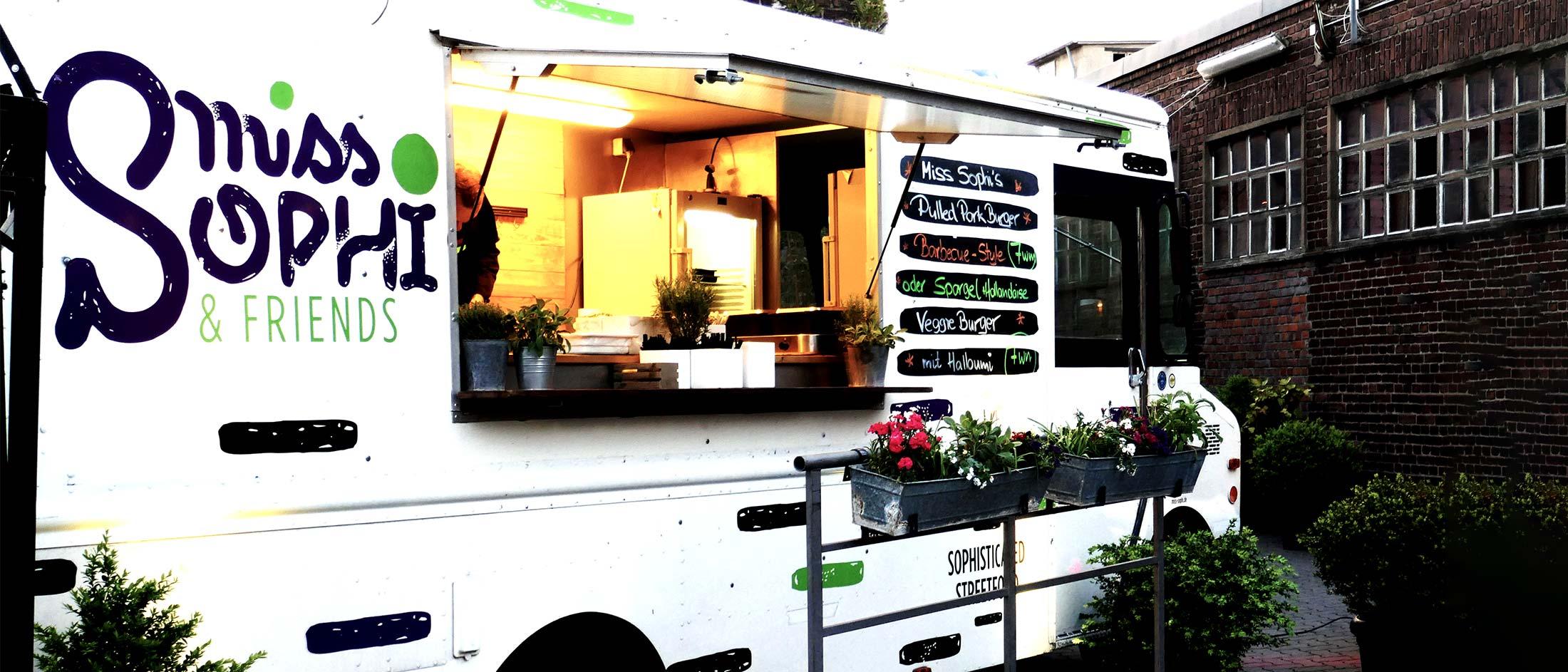 Food-Truck MISS SOPHI von caterinart in Neuss